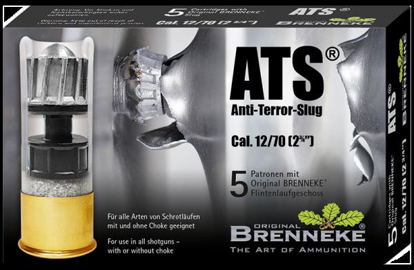 Brenneke 12/70 ATS 424 grs Flintenlaufgeschoss