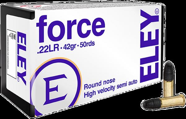 Eley Force .22 LR LRN 42 grs Kleinkaliberpatronen