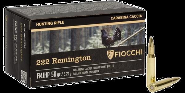 Fiocchi Hunting .222 Rem HP 50 grs Büchsenpatronen