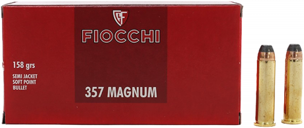 Fiocchi Classic .357 Mag SJSP 158 grs Revolverpatronen