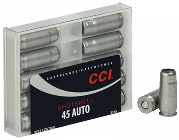 CCI Shotshell .45 ACP CCI Bleischrot Nr.9 120 grs Pistolenpatronen