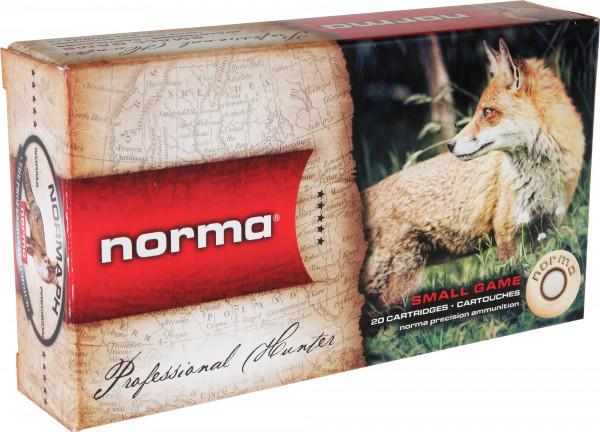 Norma .223 Rem 2,59g - 40grs Hornady V-Max Büchsenmunition