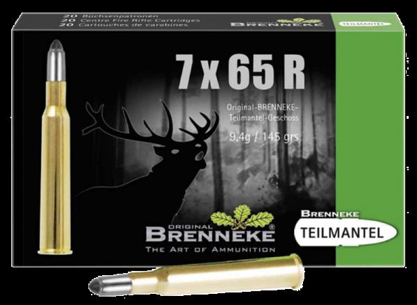 Brenneke 7x65 R TM 145 grs Büchsenpatronen