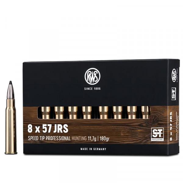 RWS Speed Tip Pro 8 x 57 IRS 11,66g - 180grs HP Büchsenmunition